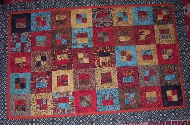 native squares quilt UFO
