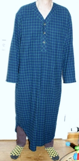 Dad's nightshirt – Kwik Sew 2650