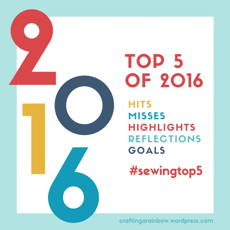 Top 5 sewing hits and misses of 2016