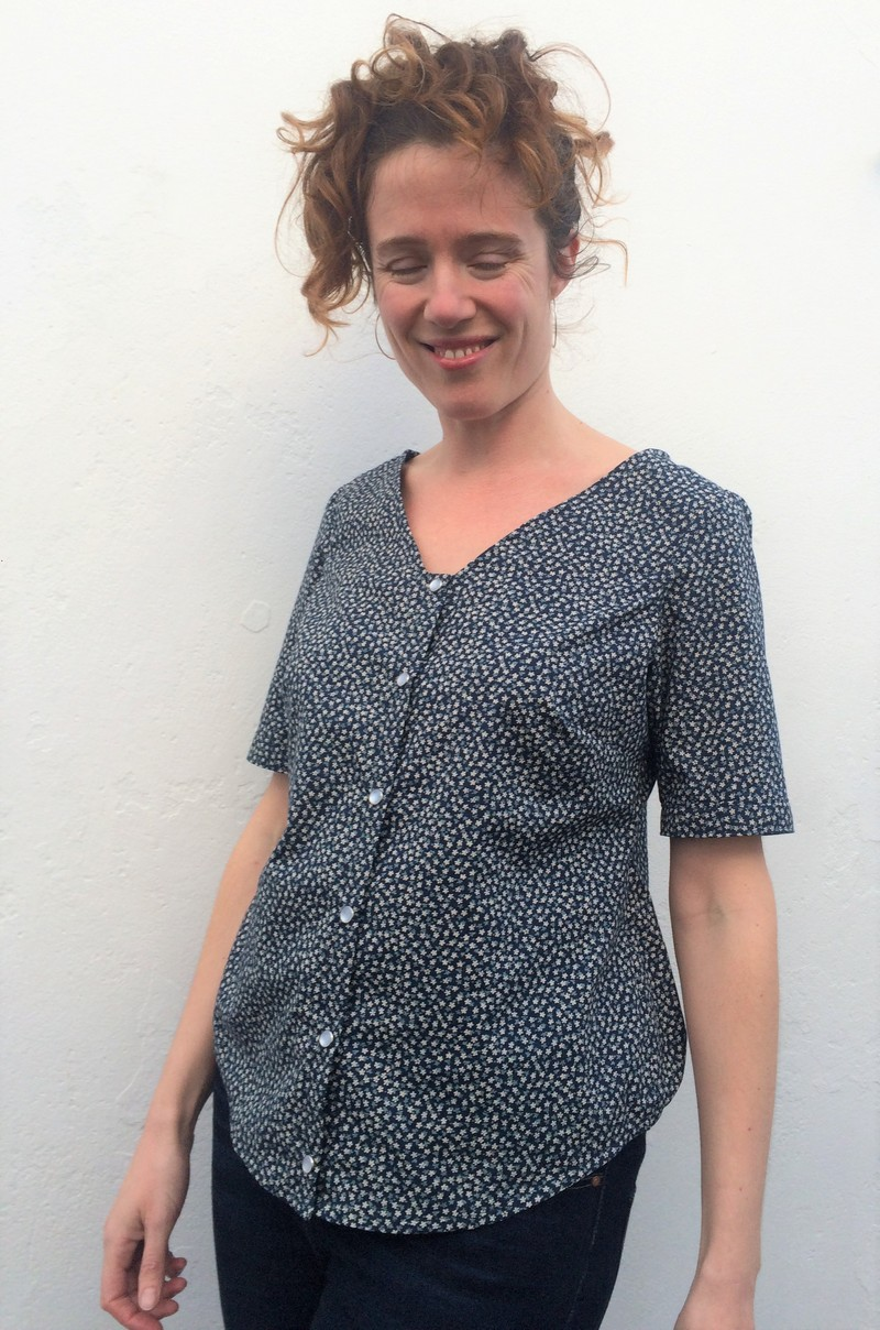 Seasonally inappropriate sewing: the Aster blouse