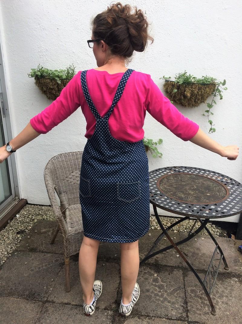 Denim stars Cleo dress 3