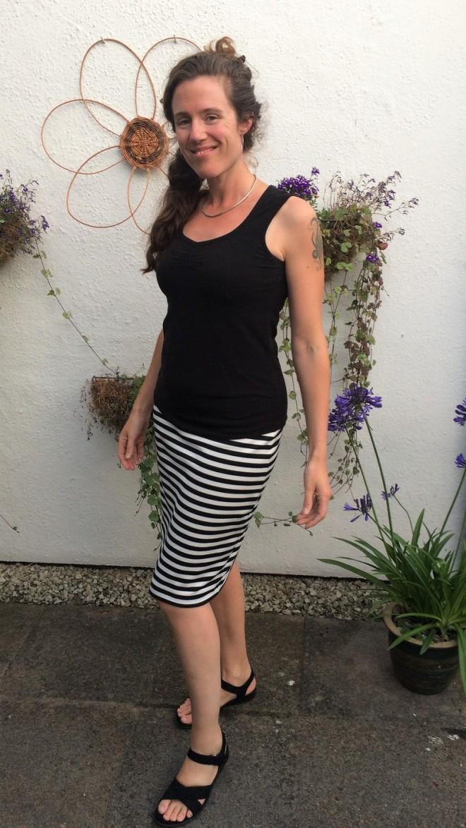 Striped Gertie Skirtie 4